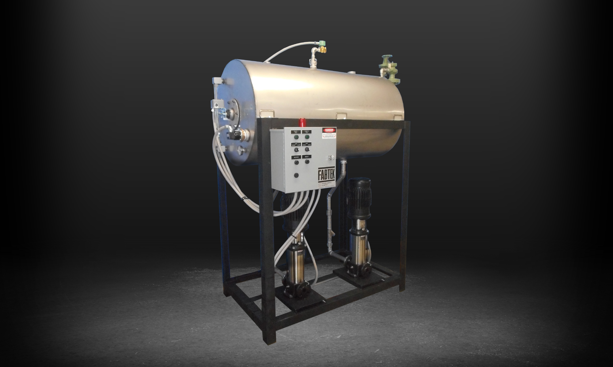 Horizontal Elevated Boiler Feed Systems
